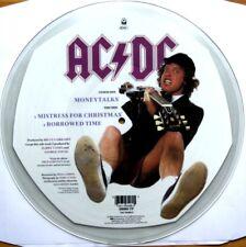 "EX! AC/DC MONEYTALKS  12""  VINYL PICTURE PIC DISC"