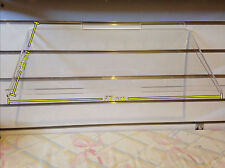 Ultraclear 45° slope Acrylic shelving (Box of 10)