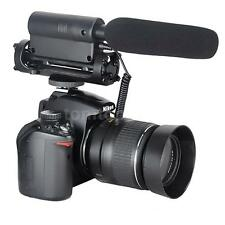 Professional Condenser Shotgun Microphone Mic For DSLR Camera Video DV Camcorder