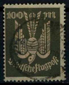 Germany 1922-1923 SG#229, 100m Air Used Cat £10.50 #E34060