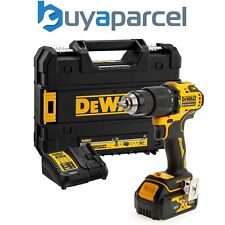 Dewalt DCD709M1T 18v XR Brushless Compact Combi Hammer Drill Tstak - 1 x 4.0ah