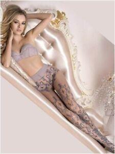Ballerina 412 Tights Pantyhose Grey European Hosiery Luxury