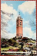 Cabot Tower & Rock Gardens, Bristol. Post Card