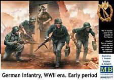 Master Box 1/35 Infantería Alemana período de la segunda guerra mundial temprana # 35177