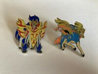 Zacian & Zamazenta Pin Badges (Official Pokemon TCG Pins)