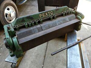 PEXTO PX-24-A BOX AND PAN FINGER BRAKE 2