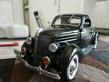 Danbury Mint 1:24 1936 Ford Deluxe Coupe- Numbered Ltd Ed of 5000