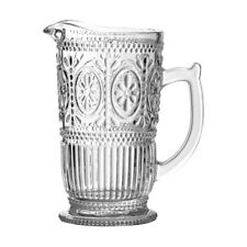 Premier Housewares Fleur Glass Pitcher 1250ml -
