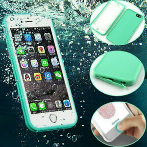 360° Waterproof Rubber Case For iPhone 11 Pro Max XR 6 7 8 Plus Shockproof Cover