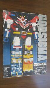 Vintage GODSIGMA GoDaiKen 1982 Bandai