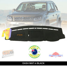 DASH MAT Volkswagon Amarok 2H V6 Highline Ultimate Hero 9/2016-2019 DM1459 BLACK