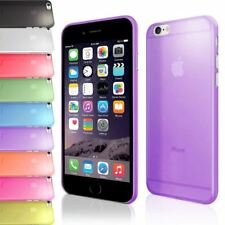 ULTRA TRANSPARENT THIN 0.5MM CLEAR SLIM SOFT GEL COVER CASE FOR IPHONE 6 PLUS