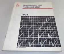 Manual de Taller Ablieferungs- y Servicio Mantenimiento Mitsubishi Div. Modelos