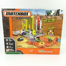 Matchbox Mission Mars Explorers Action Slammer Playset HOT WHEELS COMPATIBLE NEW
