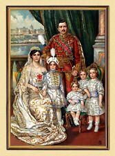 KAISER KARL I. von ÖSTERREICH mit Familie OTTO VON HABSBURG K&K Faks 91 imRahmen