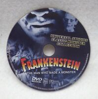 Frankenstein the Man Who Made a Monster Universal (DVD) DISK ONLY