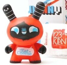 "Kidrobot Dunny 3"" Love Me! I'm French Series 123 Klan 1/50 Figure w/ accessory"