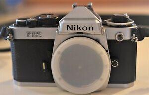 VERY GOOD Nikon FE2 CHROME BODY film camera