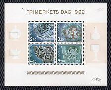 Noruega Hojita bloque del año 1992 (BZ-376)