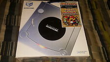 Nintendo GameCube Limited Edition Platinum Silver Console Paper Mario Bundle New
