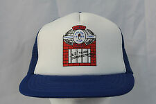 Vtg World Police & Fire Games 1989 BC Team Corrections Snapback Mesh Trucker Hat