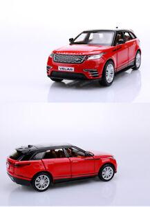 New Land Rover Velar SUV Diecast 1/32  CAR MODEL TOYS Kids Boys Girl Gift Red