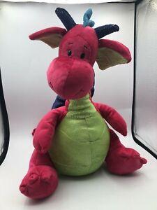 Gund Kids Scales'n Tails Sr. 20199 Red Dragon Plush Soft Stuffed Toy Animal