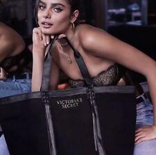 Victoria's Secret Limited Edition Black Fringe Tote Bag