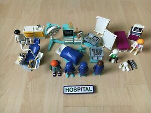 Playmobil - Krankenhaus Pack (3981 OP + 3927/7778 Zahnarzt + 3926 Kinderärztin)
