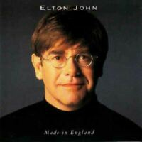 ELTON JOHN made in england (CD album 1995) pop rock, ballad, very good condition