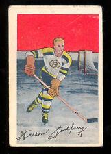 1952 53 PARKHURST HOCKEY #85 WARREN GODFREY RC VG-EX BOSTON BRUINS ROOKIE CARD