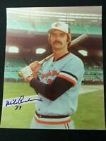 Mike Anderson Signed Vintage Orioles 8x10 Photo JSA 15B