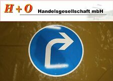 "Verkehrszeichen Verkehrschild   ""Richtungspfeil"""