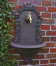 Jardin Fontaine Murale Antique Style Temps de Fondateur Fonte D'Aluminium, Neuf