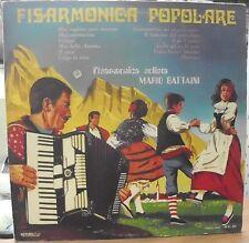 BATTAINI MARIO FISARMONICA POPOLARE LP ITALY