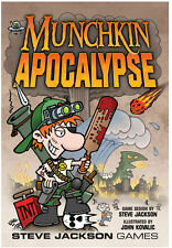 Munchkin Apocalypse Card Game From Steve Jackson Games Art By John Kovalic