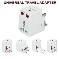 International Universal Travel Pover Adapter Charger(UK EU US AU Plug with USB)