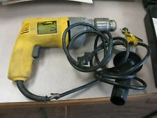 DeWalt Model Dw110 Vsr Drill Tested Good 1/2 inch chuck Usa With Case