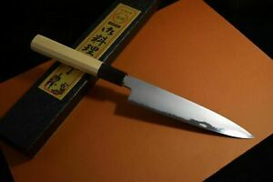 Japanese Chef Knife Itsuo Doi Aogami Blue 2 Wa Petty 145mm-160mm from Japan *F/S
