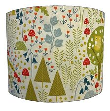 Childrens Woodland Creatures Lampshade Ideal To Match Woodland Creatures Duvets