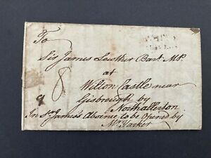 Postal History GB Early Letter 1783 to Sir James Lowther Bart MP