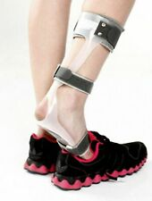 Tynor Drop Foot Orthosis Transparent Brace Ankle Splint LEFT Foot Free Shipping