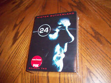 NEW FACTORY SEALED 24 - Season 2 DVD SET, 2009, 7-Disc Set COLLECTOR'S EDITION