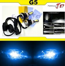 LED Kit G5 80W 9012 HIR2 10000K Blue Two Bulbs Head Light Dual Beam Replacement