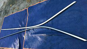 01-07 Volvo V70 Mystic Silver Roof Moldings Windshield Rainguard LOCAL PICKUP