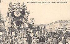 CPA 06 CARNAVAL DE NICE CHAR BAL POPULAIRE