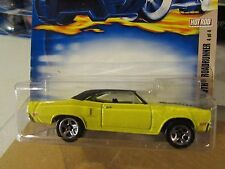 Hot Wheels '70 Plymouth Road Runner #110 Yellow (Clear plastic mounted wrong)