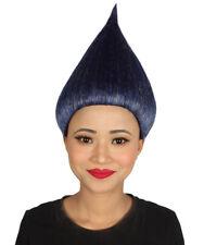 Women's Trolls Wig   Navy Blue Cosplay Wig HW-2515