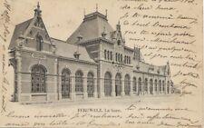Péruwelz La gare 1902