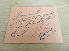 More details for the mudlarks autographs - late 1950's - jeff, fred & mary mudd